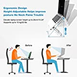 Laptop Stand Adjustable Ergonomic Aluminum Laptop