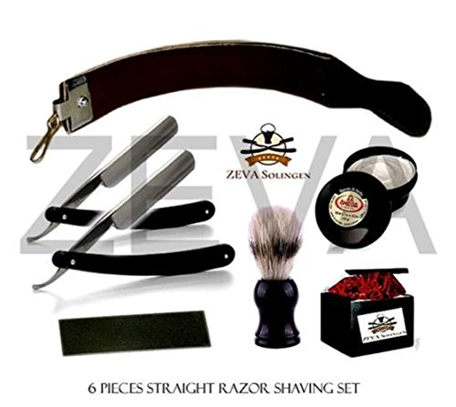 Straight Razor Barber Throat Shaving