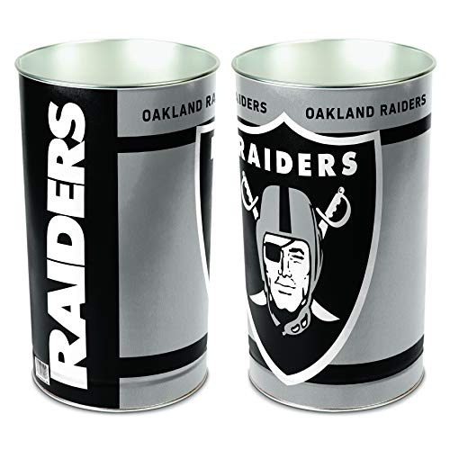 (Oakland Raiders Wastebasket)