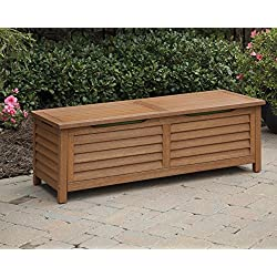 Home Styles 5661-25 Montego Bay Deck Box, Eucalyptus Finish