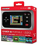 Soar the skies, solve puzzles, play golf or tennis, and much more.  Gamer V is loaded with 220 fun and easy to play videogames! Simply power on the system and start playing, anywhere, anytime!  The gaming system is perfect at home, in the car, or jus...