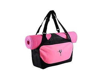 Amazon.com: iEase Bolsa de yoga para esterilla y bloques ...
