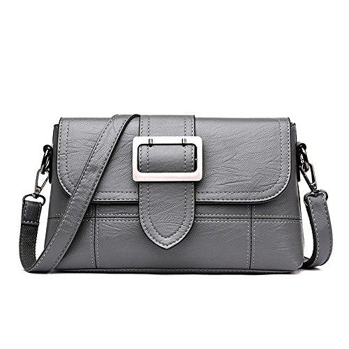 For Bag Ladies Elderly Bag Slant Bag Grey Slant aIRqqT