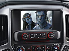 This HMI interface will plug into the back of your factory radio and will allow full functionality of the entertainment and navigation functions of your factory installed system but without the motion restrictions. Enter navigation addresses ...