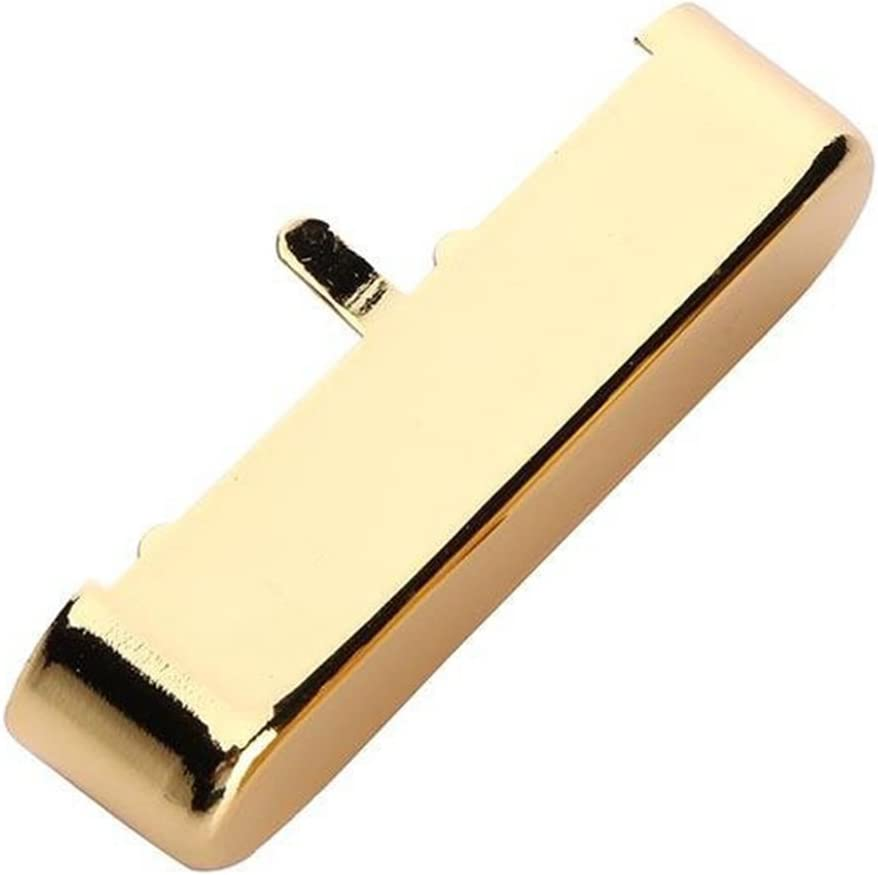Gold Electric Guitar Brass Neck Pickup Cover For TL Telecaster Style Replacement