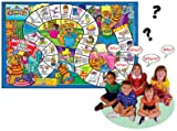 Ask and Answer Curious Kids Questions Laminated Games - Super Duper Educational Learning Toy for Kids