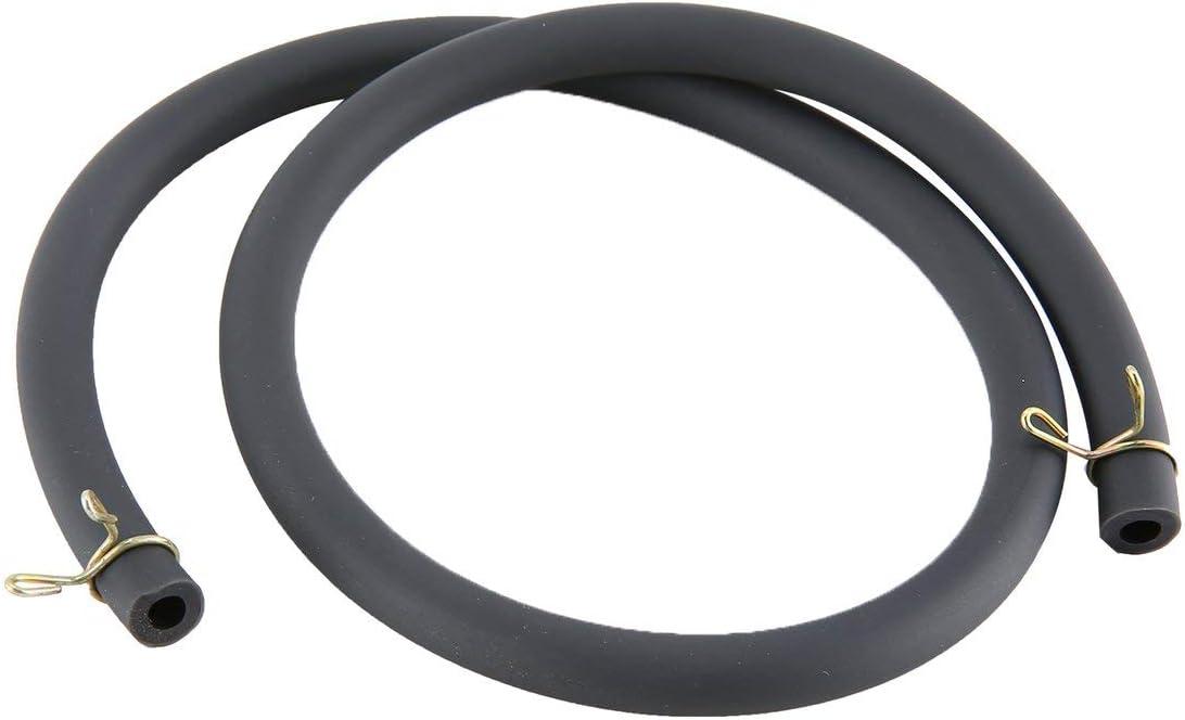 Negro QLJ 50cm 4.5mmx8mm Tubo de Combustible L/ínea de Manguera Tubo de Gasolina para Motocicleta Dirt Bike ATV Gas Oil Tube Bike Accesorio para Motocicleta
