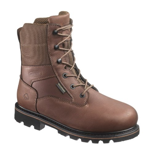 1000g Thinsulate Ultra Insulation - Wolverine Men's Novack 8 Inch Comp Toe Boot, Brown, 12 M US