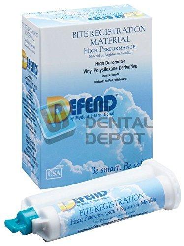 DEFEND- Bite Registration Material Regular Set 2x50ml Unflav 113679 Us Depot
