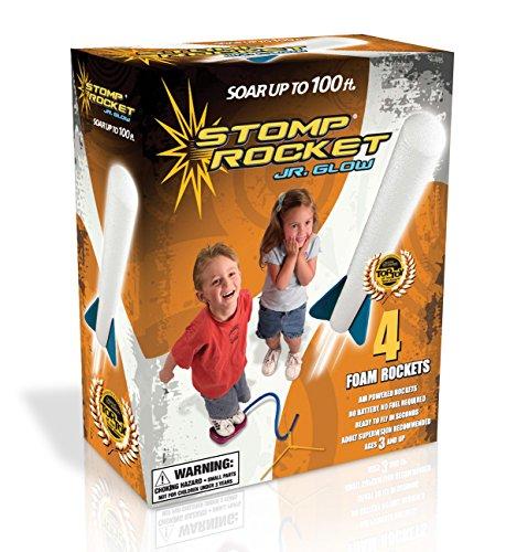 511owOg3m3L - Stomp Rocket Jr. Glow, 4 Rockets [Packaging May Vary]