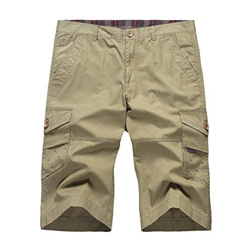 ltfang-mens-casual-summer-cotton-cargo-shorts-6a9682-bean-green-34