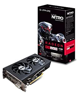 Sapphire Radeon NITRO Rx 460 4GB GDDR5 HDMI / DVI-D / DP OC (UEFI) PCI-E Graphics Card Graphics Cards (11257-02-20G)