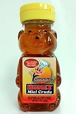 Yummmy Raw Honey 8 Oz, Kosher Certified, Local From South Florida