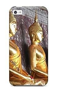 Fashionable Style Case Cover Skin For Iphone 5c- Buddhism wangjiang maoyi