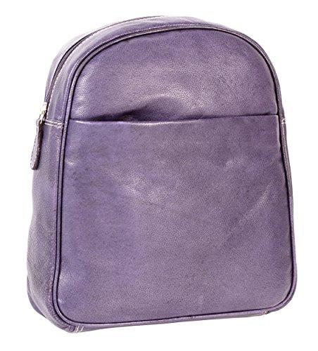 Oxbridge Satchel Shop - Bolso mochila  para mujer Morado morado small