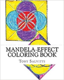 Amazon Mandela Effect Coloring Book 9781515233688 Tony Salvitti Books