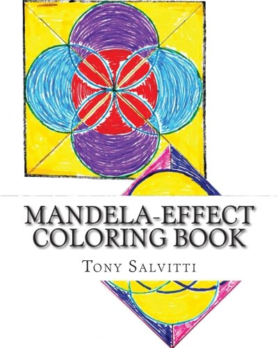 Amazon Mandela Effect Coloring Book 9781515233688 Tony Salvitti Books