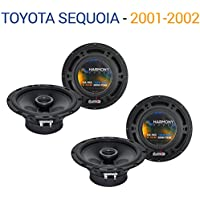 Toyota Sequoia 2001-2002 Factory Speaker Upgrade Harmony (2) R65 Package New