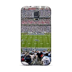 Premium Tennessee Titans Stadium Sold Out Game Show Back Cover Snap On Case For Galaxy S5