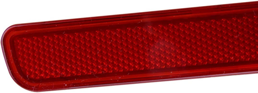 beler Left Rear Bumper Brake Light Reflector Tail Stop Lamp Cover XFF500030