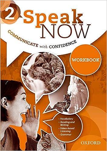 Speak Now 2 Workbook