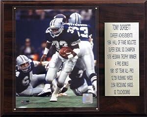 NFL Tony Dorsett Dallas Cowboys Career Stat Plaque
