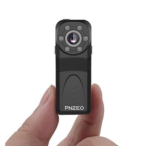 PNZEO PD6 Cámara Oculta Mini cámara espía 1080P HD Cámara infrarroja de visión Nocturna por Infrarrojos