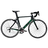 Blue Bicycles AC1 EX SRAM Force 22 Gear Road Bicycle, Large, Black/Green For Sale
