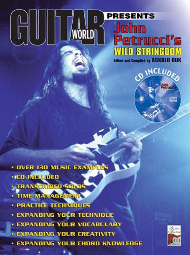 Alfred Publishing Patitucci John – Wild String dom + CD – Guitar ...