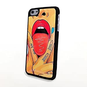 linJUN FENGGeneric Matte PC Phone Case fit for iphone 5/5s Case Fashionable Hot Sexy Girl