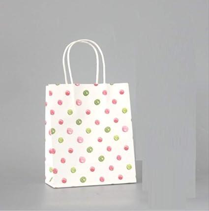 Bolsa de papel de regalo de 20 piezas con asa Bolsas de ...