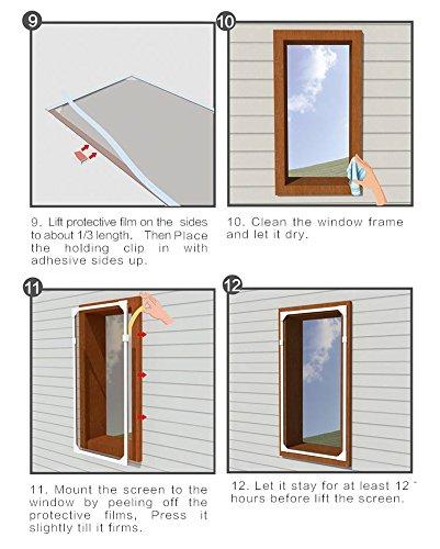 Window Screen Mesh Net PVC strips, Magnetic Strip, fiberglass mesh ...