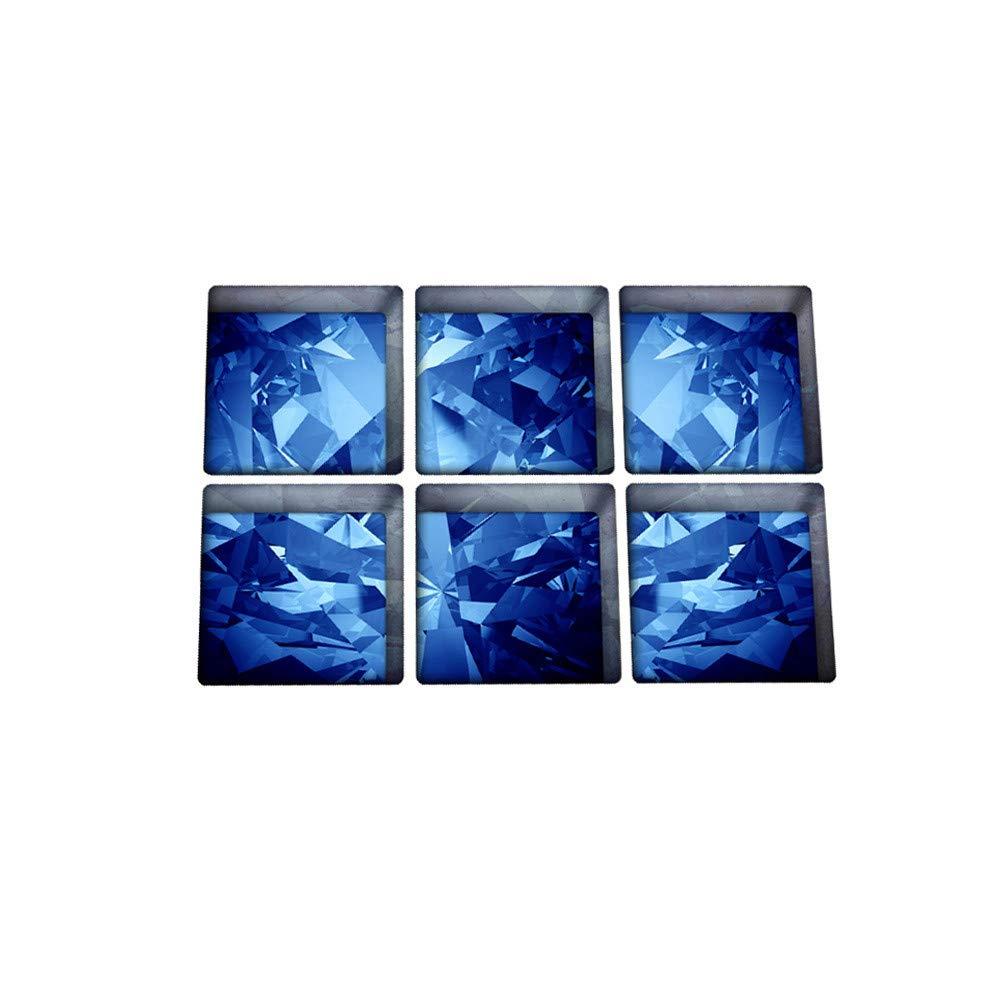Loneflash Bathtub Sticker Bathtub Decals,Water shadow Pattern Non Slip Non-Toxic, Anti-Bacterial, Mold & Mildew Resistant Treads Removable Vinyl Bathtub Appliques Safety Bathtub Tattoos Grips Adhesive
