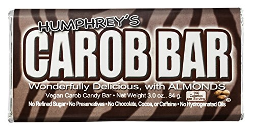 Humphrey's Almond Carob Bar - Pack of ()