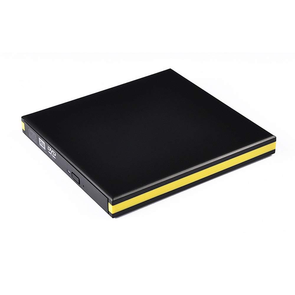 Tchin External Optical Drive USB 3.0 Portable Inhalation DVD Burner Drive Mobile Optical Drive