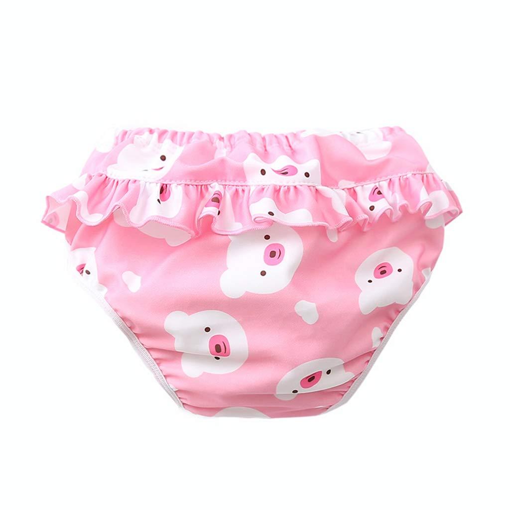 # 1 F Fityle Waschbare Baby Windel Schwimmhose Badewindelhose Badehose Verschiedene Muster zur Auswahl