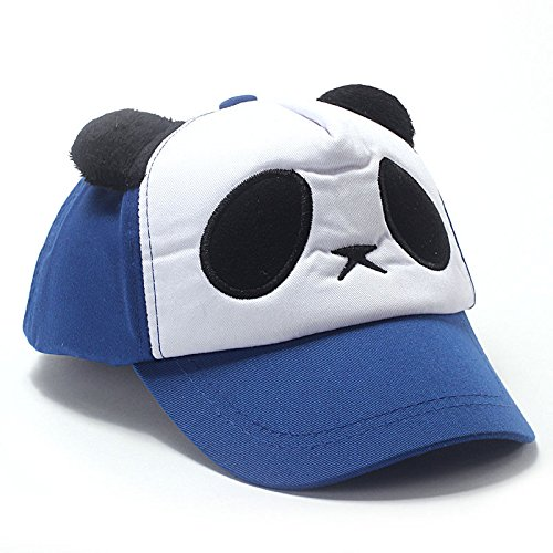 EOWEO Caps Hat,2019 anniversary celebration Cotton Cute Panda Baseball Cap Hat Blue