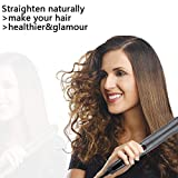 Hair Straightener Brush - Straightening Comb with