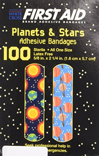 UPC 041405156503, First Aid Children's Adhesive Bandages: Planets and Stars Aid