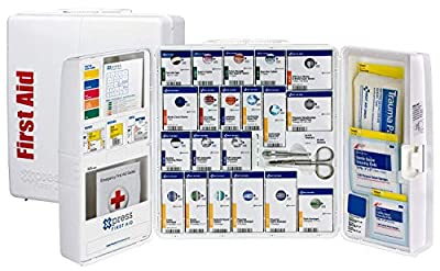 Xpress First Aid 50 Person Large Plastic SmartCompliance First Aid Cabinet with Medications by Acme United