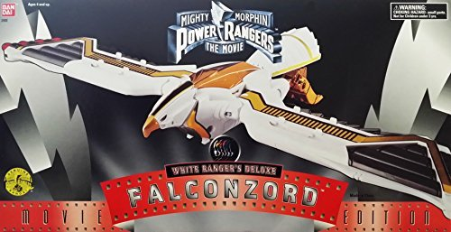 Mighty Morphin Power Rangers: White Ranger's Deluxe Falconzord Movie Edition (1995) (Mighty Morphin Power Rangers Zords)