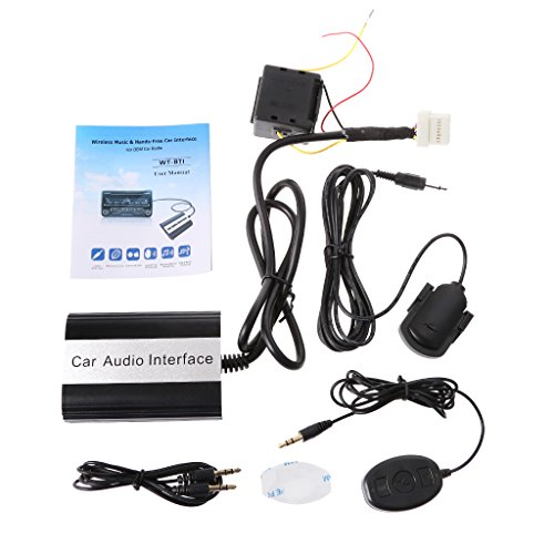 Input Aux Nissan (Numkuda Car Bluetooth Kits MP3 AUX Adapter Interface For Nissan For Infiniti)