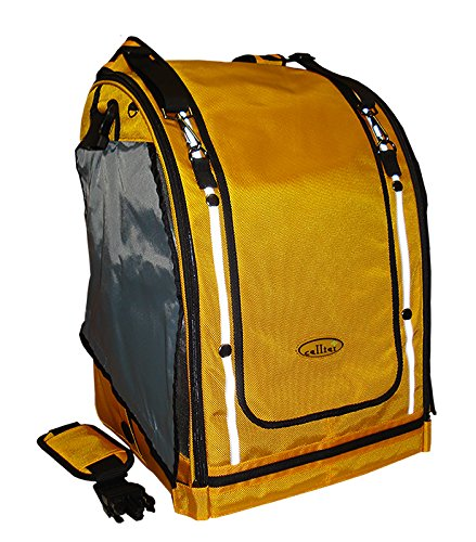 Celltei Pak-o-Bird - Gold color with Stainless Steel mesh - Medium Size by Celltei