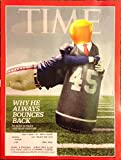 Time October 9, 2017 Donald Trump - Why He Always Bounces Back