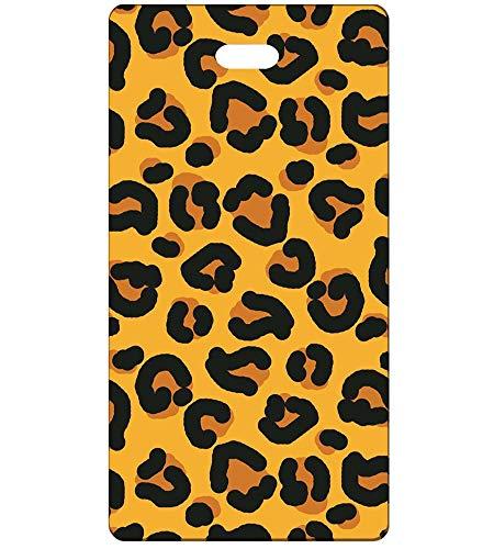 Comfy Leads Leopard Print Luggage Tag, 2