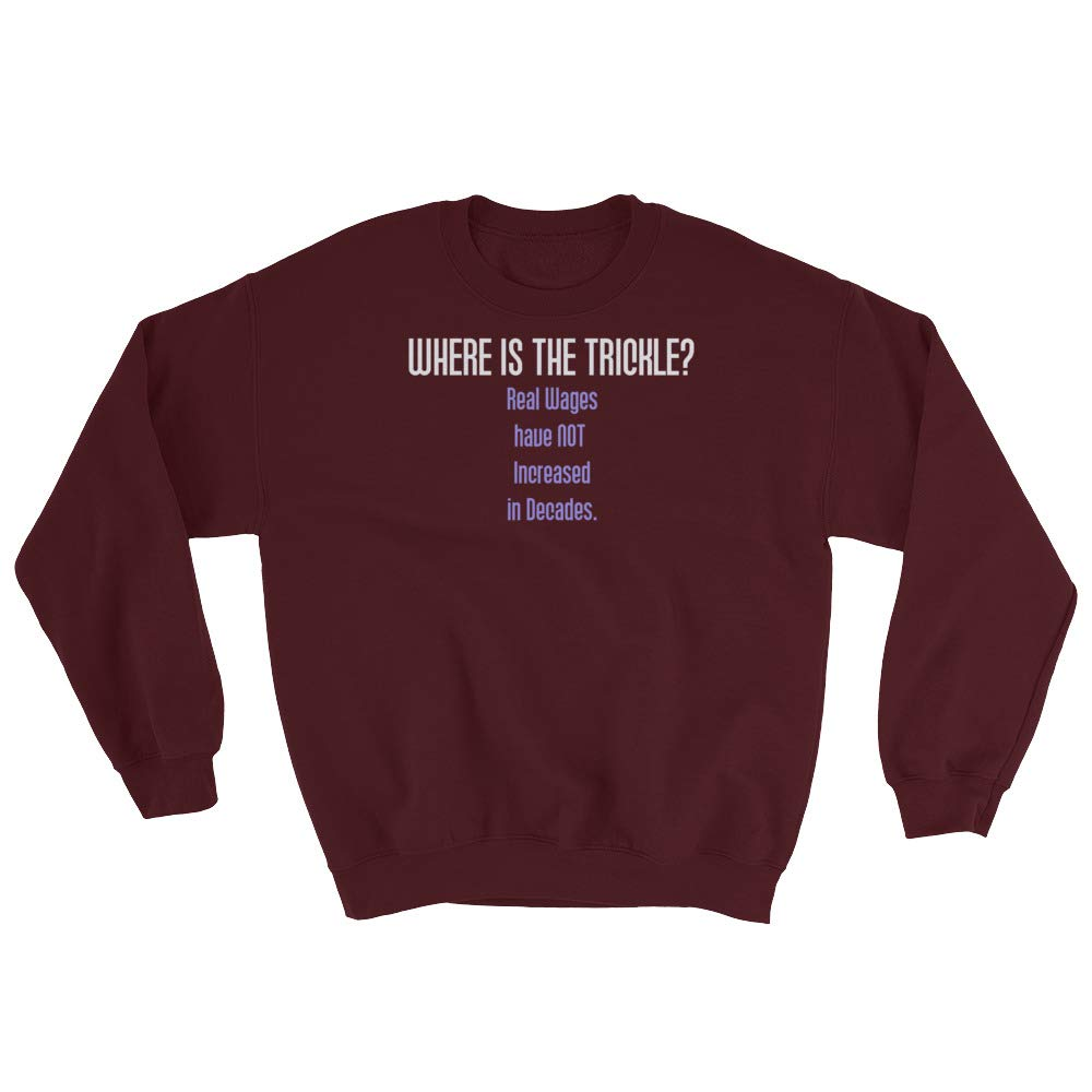 Sweatshirt Maroon STFND Where is The Trickle