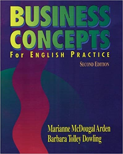 amazoncom business concepts for english practice 9780838440773 marianne mcdougal arden barbara tolley dowling books business concepts