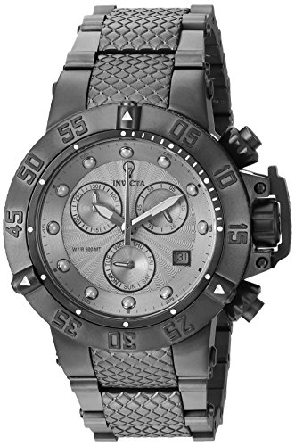 Invicta Women's 'Gabrielle Union' Quartz Stainless Steel Casual Watch, Color:Black (Model: 23176)