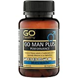 Testosterone Booster | Sexual Enhancement Pills | Tribulus | Horny Goat Weed | Go Healthy Man Plus - 60 Capsules