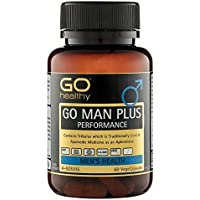 Testosterone Booster   Sexual Enhancement Pills   Tribulus   Horny Goat Weed   Go Healthy Man Plus - 60 Capsules